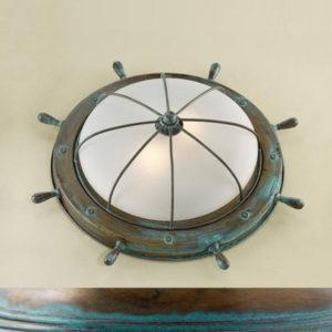 7159875ffc1804e31eeb12fef8ed2e2b 300x300 - Настенно-потолочный светильник Lustrarte 689/38-0625 зеленый антик/мат. стекло