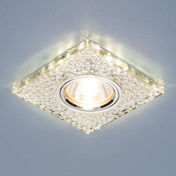 71f83c8dff9b0e901d92e8024cbf0b77 600x600 - встр. точечный светильник Elektrostandard 2150 зеркальный/серебро