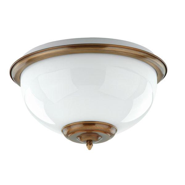 7212e7fbb86c4f6b10abebed9b9d0320 600x600 - Потолочный светильник Kutek LID-PL-2 (P) ECRU патина/бежевый