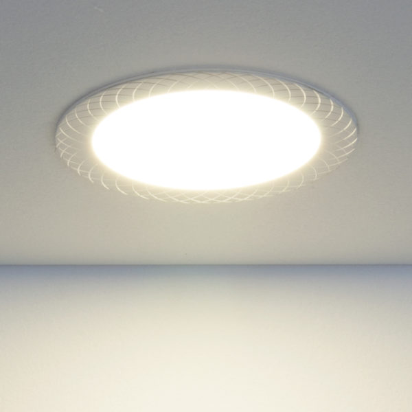 792dc5b251a06f889cb18bfa1a6a1c4c 600x600 - встр. точечный светильник Elektrostandard DLR005 12W 4200K WH белый