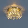 7ba28c5b170c691fcc483e641b6ae124 100x100 - встр. точечный светильник Elektrostandard 7070 золото/прозр.