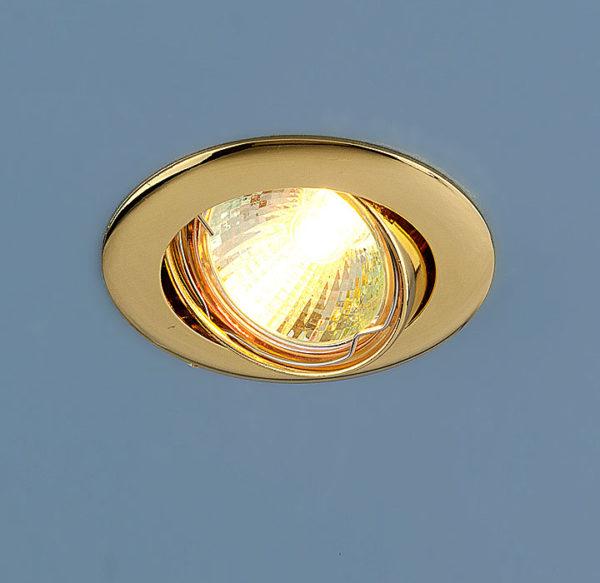7ec1b1850c2d6f8cc14072e6ab58b97b 600x583 - встр. точечный светильник Elektrostandard 104S золото