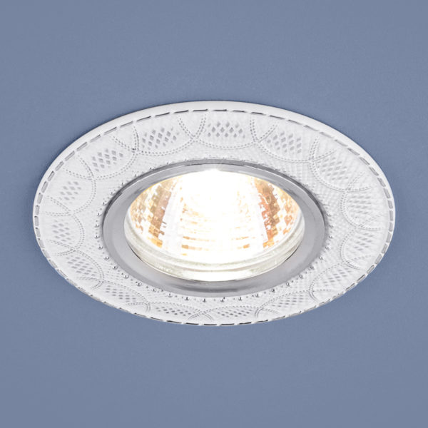 8539260bd6194f708fcd004f9ecae962 600x600 - встр. точечный светильник Elektrostandard 7010 MR16 WH/SL белый/серебро