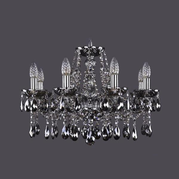 880a19fbd09bce82eba272a7abd0c44f 600x601 - Люстра подвесная Bohemia Ivele Crystal 1413/8/200 Ni M781