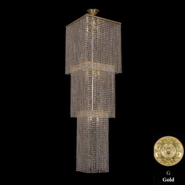 8b1fad6edb9c05cfba3efceca10d184c 600x600 - Люстра потолочная Bohemia Ivele Crystal 2180/45-160 G