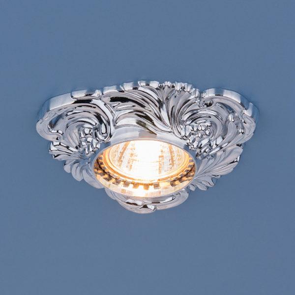 8b9770215e1837db24a66e52d9808f3e 600x601 - встр. точечный светильник Elektrostandard 4105 хром