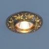 9076166b5f680e99fb0d31bc05b8565d 100x100 - встр. точечный светильник Elektrostandard 7217 черный/золото