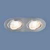 92c31437a19c255e511e5c5e4061f4ff 100x100 - встр. точечный светильник Elektrostandard 1061/2 MR16 SL серебро