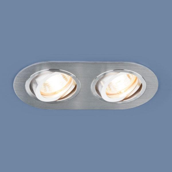 92c31437a19c255e511e5c5e4061f4ff 600x600 - встр. точечный светильник Elektrostandard 1061/2 MR16 SL серебро