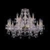 94203b3c99008622b13af97173b287bf 100x100 - Люстра подвесная Bohemia Ivele Crystal 1411/10+5/240 G