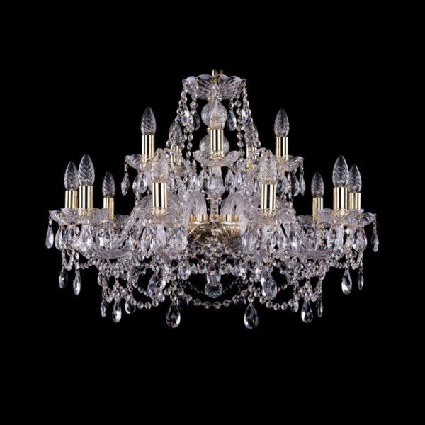 94203b3c99008622b13af97173b287bf 600x600 - Люстра подвесная Bohemia Ivele Crystal 1411/10+5/240 G