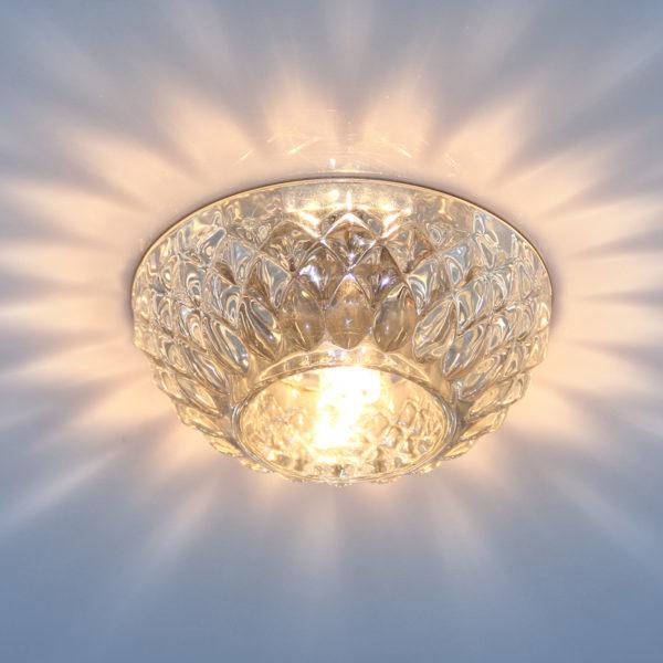 963c5c328b51839799711ca086cf6670 600x600 - встр. точечный светильник Elektrostandard 1101 G9 CL прозр.