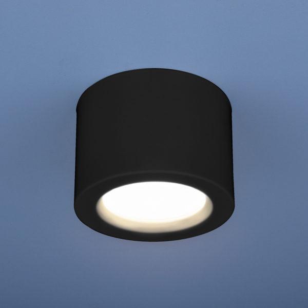 9729240376920f157a4470622d2c2f57 600x600 - Накладной точечный светильник Elektrostandard DLR026 6W 4200K черный мат.