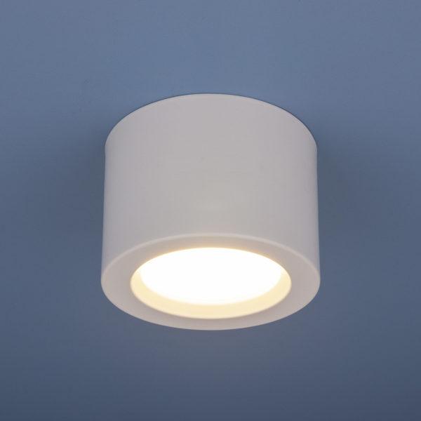 9e1acf22f802ff7982875ebe7ba433e3 600x600 - Накладной точечный светильник Elektrostandard DLR026 6W 4200K белый мат.