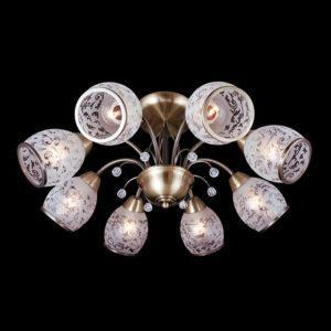 9ee3555534c230a3fd00864aae4d78eb 300x300 - Люстра на штанге Eurosvet 30026/8 античная бронза