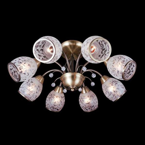 9ee3555534c230a3fd00864aae4d78eb 600x600 - Люстра на штанге Eurosvet 30026/8 античная бронза