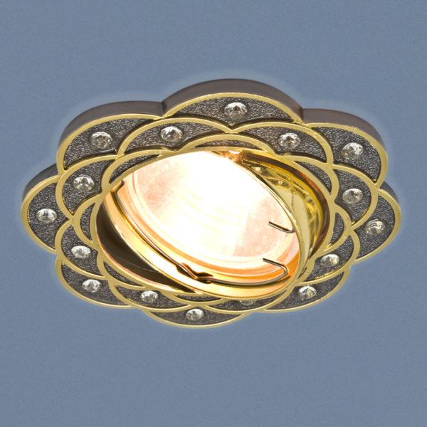 a0d8bb34851fbb626fad04b9192d77eb 600x600 - встр. точечный светильник Elektrostandard 8006 черный/золото