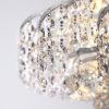 a4bef2a3f051cff43aee36c61716dbde 100x100 - Потолочный светильник Eurosvet 16017/6 белый с серебром