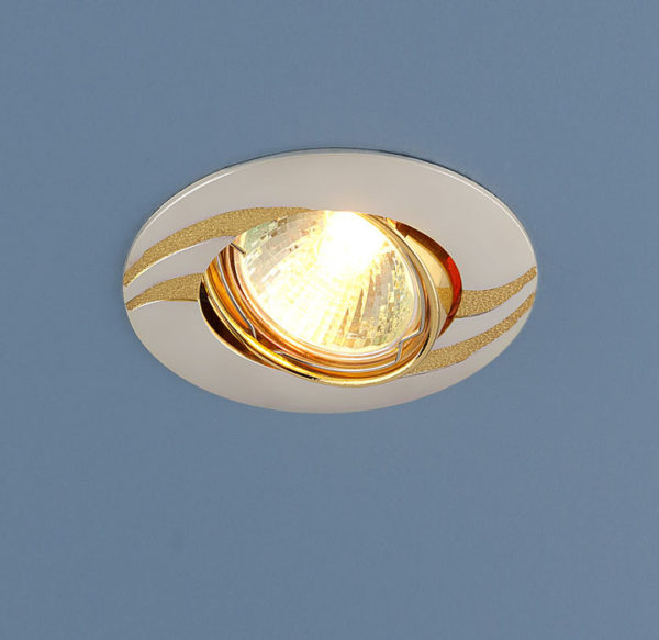 a80490e412420dab0cc56d51407b8668 600x583 - встр. точечный светильник Elektrostandard 8012A перламутр серебро/золото