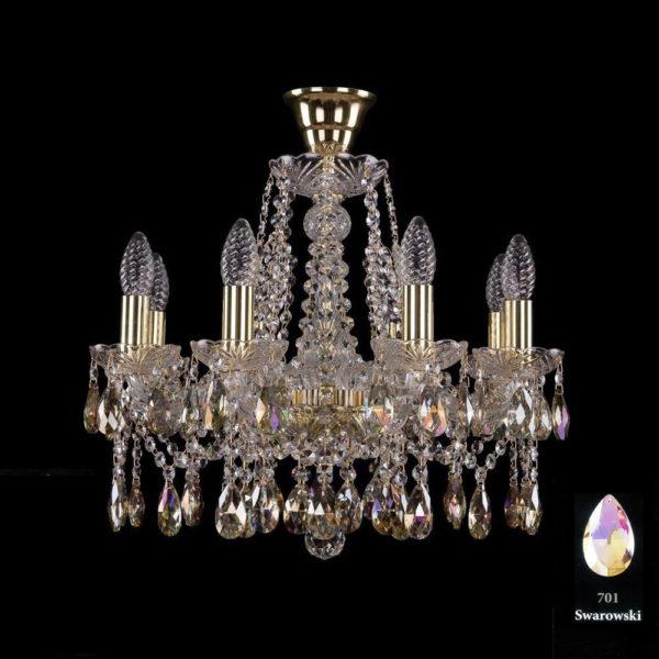 a8667b883d6b6a81907375924dc2961e 600x600 - Люстра подвесная Bohemia Ivele Crystal 1413/8/165/G/M701