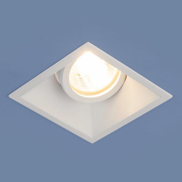 b3701d32b0a6d3e20e9052d83c78734c 600x600 - встр. точечный светильник Elektrostandard 6070 MR16 WH белый