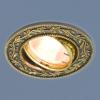 b4bb6145b2825238e55754d3dfde6687 100x100 - встр. точечный светильник Elektrostandard 713 черный/золото