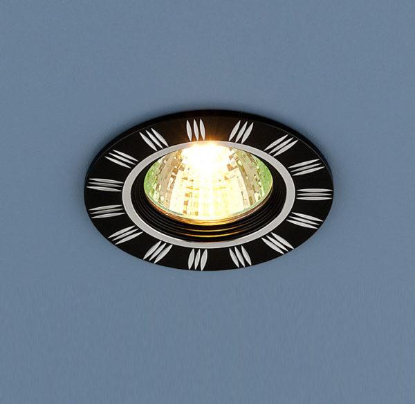 b519b4ca77403623d8fb24a7e5ae6851 600x583 - встр. точечный светильник Elektrostandard 5814 черный/хром