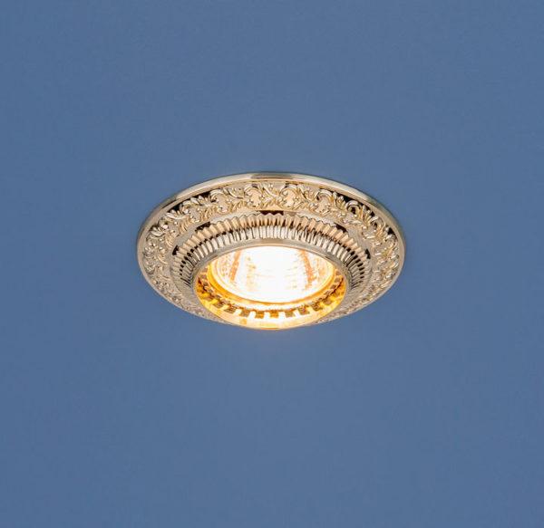 b6efe0152170125688dda2065cc11116 600x583 - встр. точечный светильник Elektrostandard 4103 золото
