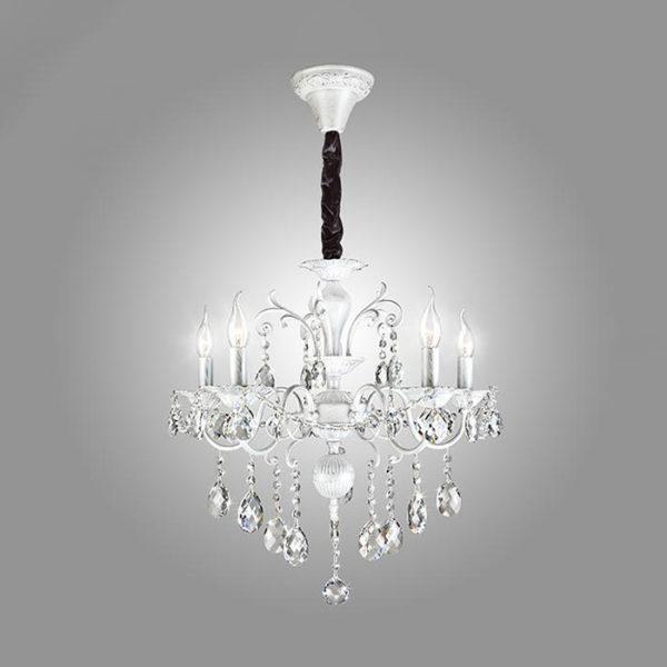 b7027c59a09ae7142f6aacf1fa76739d 600x600 - Люстра подвесная Eurosvet 10064/5 белый с серебром