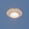 bb6e04bdc50ed523612dd29a44d6f1b4 100x100 - встр. точечный светильник Elektrostandard 4103 белый/золото