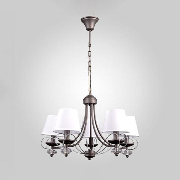 bc8e282545dee19192f58661b3740038 600x600 - Люстра подвесная Eurosvet 70046/5 серый/хром