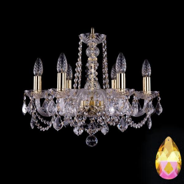bd0ca5741a77bf564ca1554fc413ab33 600x600 - Люстра подвесная Bohemia Ivele Crystal 1402/6/160/G