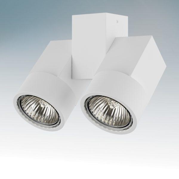 c05461614c662281b493c3529e3f5581 600x600 - Накладной точечный светильник Lightstar 051036 ILLUMO X2 BIANCO