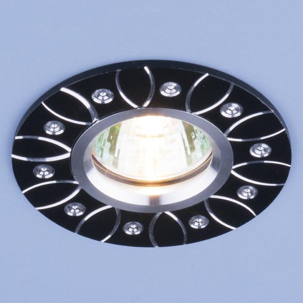 c4af07b8020b4779f7101dc70a209953 600x600 - встр. точечный светильник Elektrostandard 2007 MR16 BK черный