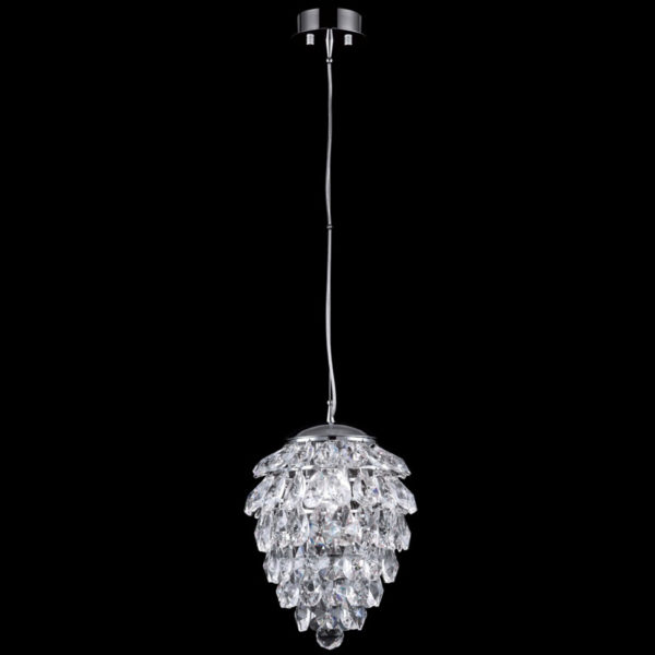 c6efae15e65421829536288c2813b7d6 600x600 - Подвесной светильник Crystal Lux CHARME SP1+1 LED CHROME/TRANSPARENT