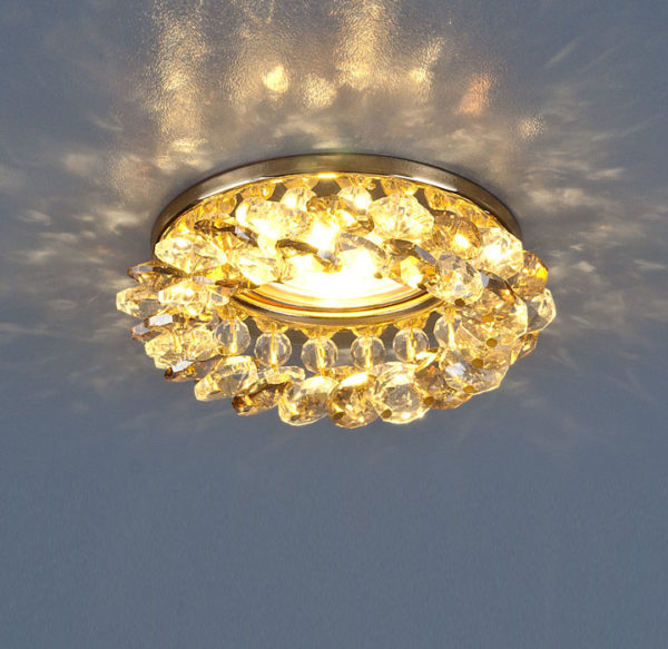 ce93b33803745221fab1a1467c31c558 600x583 - встр. точечный светильник Elektrostandard 206 золото/тон./прозр.