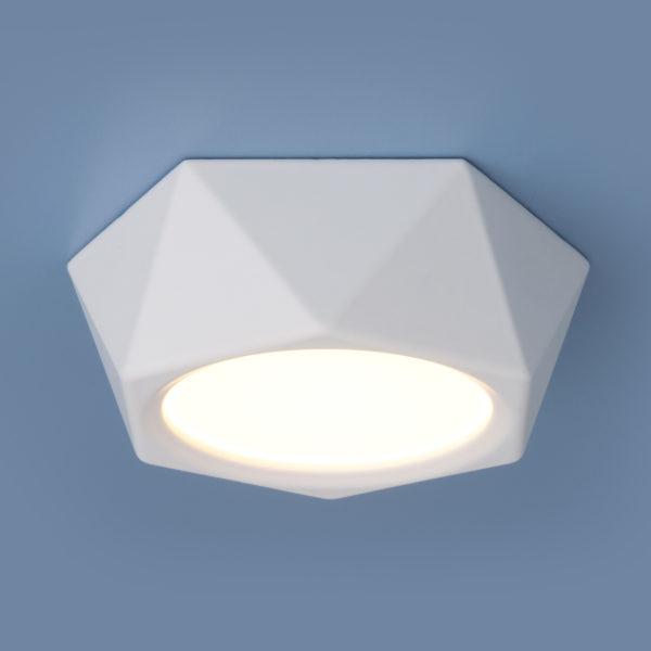 d23ccc13601b1c47a5d0a253df30a40d 600x600 - Накладной точечный светильник Elektrostandard DLR027 6W 4200K белый мат.