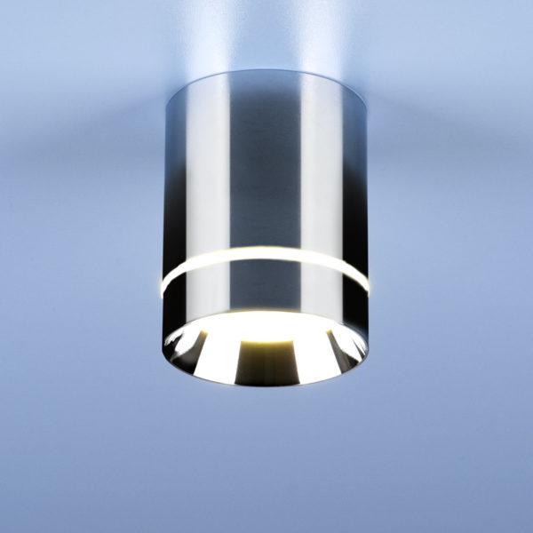 d2ea9b5f746a699fcdddb9c51b80217c 600x600 - Накладной точечный светильник Elektrostandard DLR021 9W 4200K хром