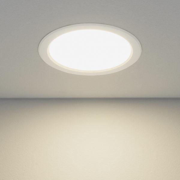 d80cdbbe53f16e243d2fe72373f9d9ec 600x600 - встр. точечный светильник Elektrostandard DLS186 4200K белый