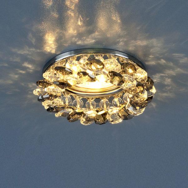 d87262f4585f967fa33e2cce6ec4dced 600x600 - встр. точечный светильник Elektrostandard 206 хром/дымчатый/прозр.
