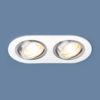 dad24614956711fb7e59ca144f8e3ffc 100x100 - встр. точечный светильник Elektrostandard 1061/2 MR16 WH белый