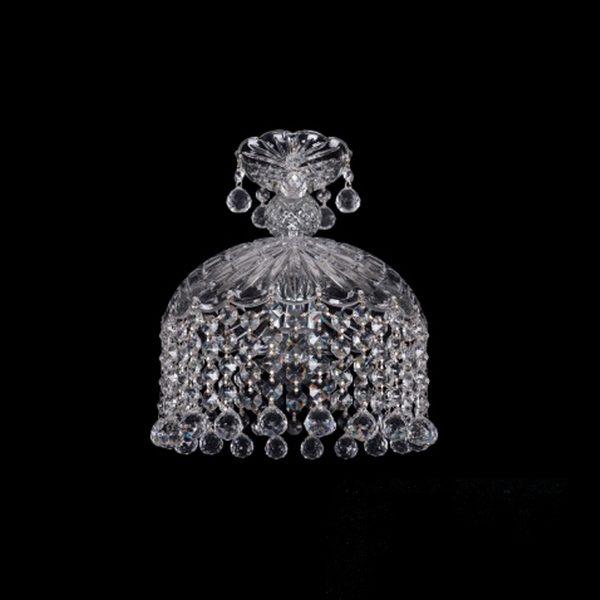 decbb8eb331ec1d8eb700113f9225c4a 600x600 - Подвесной светильник Bohemia Ivele Crystal 7715/22/1 Ni Balls