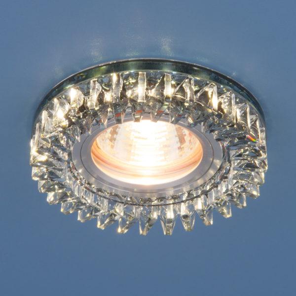 e458a2735f9c79423f5cec988d340c69 600x600 - встр. точечный светильник Elektrostandard 2216 MR16 SBK дымчатый