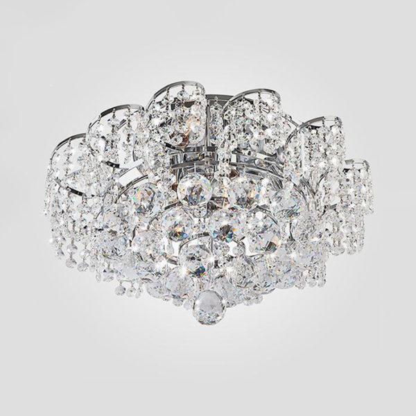 eaf4aed0cff880bf995abcfdf4173a06 600x600 - Потолочный светильник Eurosvet 16017/6 хром