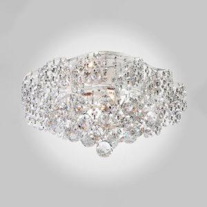 ec40bd2a77bec867c88eeb9b647ae6f3 300x300 - Потолочный светильник Eurosvet 16017/6 белый с серебром