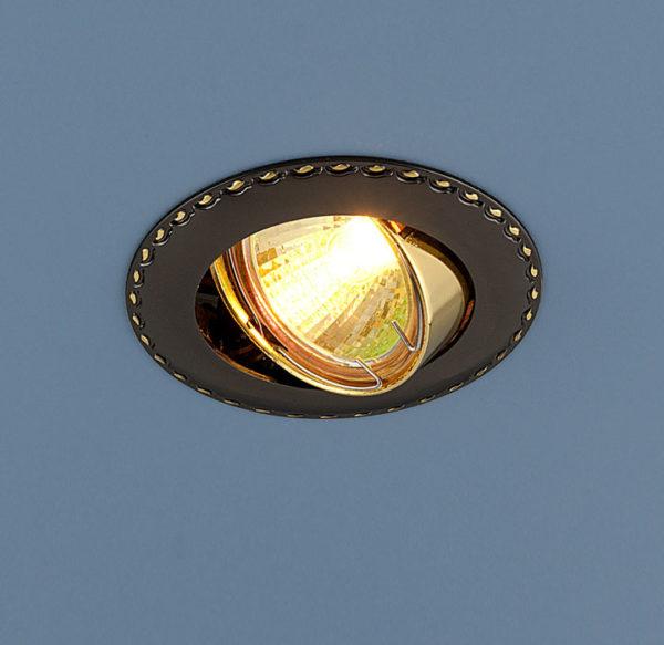 ed7d447f8a4e7cf937ce176af44098a7 600x583 - встр. точечный светильник Elektrostandard 635 черный/золото