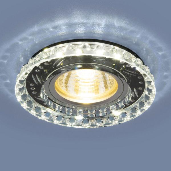 f075ac8cf3780b846792448618b2c5e8 600x600 - встр. точечный светильник Elektrostandard 8351 MR16 CL/BK прозр./черный