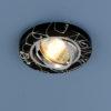 f226108e541e6ef0bdb7597955849f82 100x100 - встр. точечный светильник Elektrostandard 2050 черный/серебро