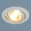 f32893cc99cdbca367daf52ec542146d 100x100 - встр. точечный светильник Elektrostandard 104S белый
