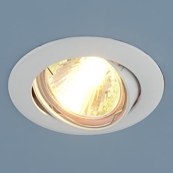 f32893cc99cdbca367daf52ec542146d 600x600 - встр. точечный светильник Elektrostandard 104S белый